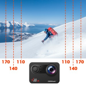 e2f9d4da 1008 480b be5f 7ba9c6a767c7.  CR0,0,300,300 PT0 SX300 V1    - Campark V30 Native 4K Action Camera 20MP EIS Touch Screen WiFi Waterproof PC Webcam with Optional View Angle, 2 1350mAh Batteries and Mounting Accessories Kit