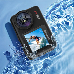 0953a93a 4e14 40f2 b670 1b6713268cf0.  CR0,0,300,300 PT0 SX300 V1    - Campark V40 Action Camera Dual Screen 4K/30FPS WiFi Touch Screen EIS Remote Control Vlog Camera 20MP Waterproof Camera 131 Feet Webcam with 2X 1350mAh Batteries and Accessories
