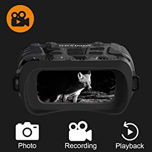 0ae6f8de 758c 431f aae8 b5d6c7314a30.  CR0,0,900,900 PT0 SX300 V1    - Rexing B1 Night Vision Goggles Binoculars with LCD Screen, Infrared (IR) Digital Camera, Dual Photo + Video Recording for Spotting, Hunting, Tracking up to 300 Meters (Camo)