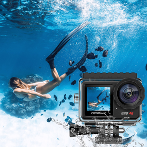 13835a8f 92d5 48cc b7ad 87f34601b4b5.  CR0,0,300,300 PT0 SX300 V1    - Campark V40 Action Camera Dual Screen 4K/30FPS WiFi Touch Screen EIS Remote Control Vlog Camera 20MP Waterproof Camera 131 Feet Webcam with 2X 1350mAh Batteries and Accessories