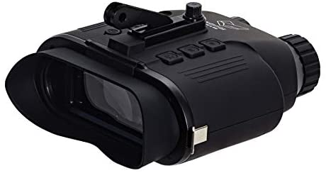 313abl2yf2L. AC  - Nightfox Cape Night Vision Goggles   1x Magnification   Covert Infrared 940nm   Records Video   55yd Range   Airsoft Ready