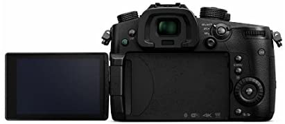 31IrwwMIk6L. AC  - Panasonic LUMIX GH5 4K Mirrorless Digital Camera, DC-GH5 (Body), Bundle with Light, Mic, Bag, 2 Battery, Charger, Mac Software Pack, 128GB SD Card + Case, 3 Shoe Bracket, LCD Protector, Cleaning Kit