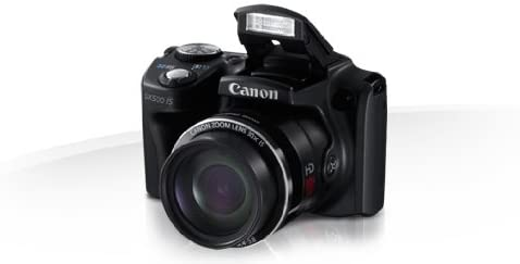 31NRgpFtMVL. AC  - Canon PowerShot SX500 IS 16.0 MP Digital Camera with 30x Wide-Angle Optical Image Stabilized Zoom and 3.0-Inch LCD (Black) (OLD MODEL)