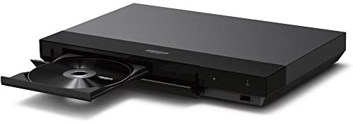31TxvMyy2qL. AC  - Sony 4K Ultra HD Blu Ray Player with Dolby Vision (UBP-X700) with 1 Year Extended Warranty