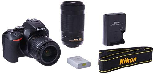 31d4NORyyEL. AC  - Nikon D5600 DSLR with 18-55mm f/3.5-5.6G VR and 70-300mm f/4.5-6.3G ED
