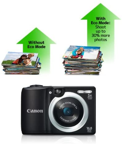 41+WQcis9dL. AC  - Canon PowerShot A1400 16.0 MP Digital Camera with 5x Digital Image Stabilized Zoom 28mm Wide-Angle Lens and 720p HD Video Recording (Black) (OLD MODEL)