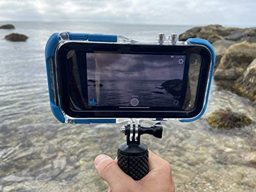 414 F9xLf L. AC  - ProShot Touch - Waterproof Case Compatible with iPhone 11 Pro and Compatible with All GoPro Mounts (12-Month Protection Plan for Your iPhone) (11 Pro)