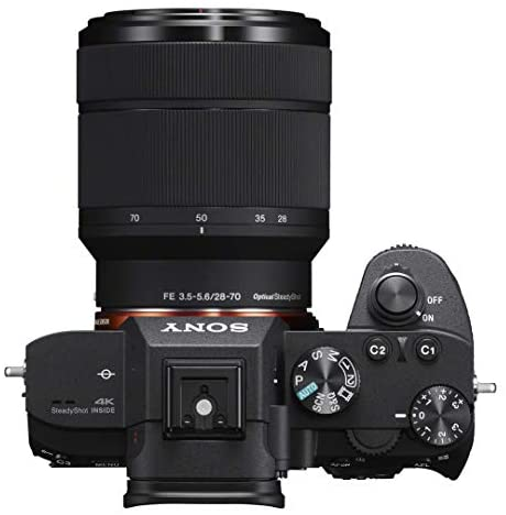 418B8duqRCL. AC  - Sony ILCE-7M3K/B a7III Full Frame Mirrorless Camera with 2 Lens Kit SEL2870 FE 28-70 mm F3.5-5.6 OSS + SEL50F18F FE 50mm F1.8 Bundle with 2X 64GB Memory, Deco Gear Case and Accessories (15 Items)