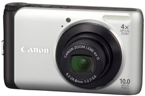 4192cojYusL. AC  - Canon PowerShot A3000IS 10 MP Digital Camera with 4X Optical Image Stabilized Zoom and 2.7-Inch LCD