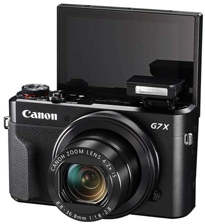 419ZspGJduL. AC  - Canon PowerShot G7 X Mark II Digital Camera 20.1MP with 4.2X Optical Zoom Full-HD Point and Shoot Kit Bundled with Complete Accessory Bundle + 64GB + Monopod + Case & More - International Model