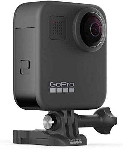 41A7WhYL9KL. AC  - GoPro MAX Waterproof 360 Camera with Touch Screen, 5.6K30 UHD Video 16.6MP Photos 1080p Live Streaming Bundle with Hand Grip, Battery, 32GB microSD Card, Cleaning Kit