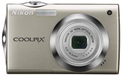 41AJ M0DSFL. AC  - Nikon Coolpix S4000 12 MP Digital Camera with 4x Optical Vibration Reduction (VR) Zoom and 3.0-Inch Touch-Panel LCD (Silver)