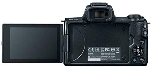 41GPhVMSLJL. AC  - EOS M50 Mirrorless Digital Camera with 15-45mm Lens, 64GB Memory,Case, Tripod and More (28pc Bundle)