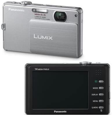 41GUg43f7zL. AC  - Panasonic Lumix DMC-FP3 14.1 MP Digital Camera with 4x Optical Image Stabilized Zoom and 3.0-Inch Touch-Screen LCD (Silver)