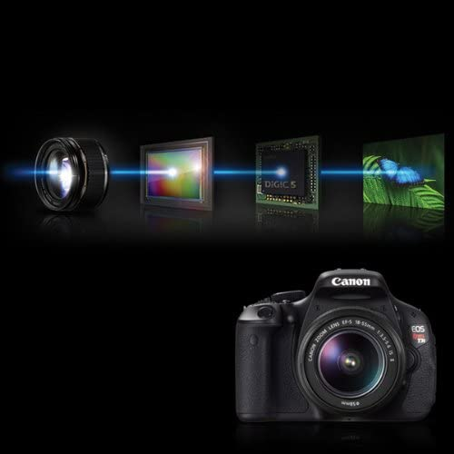 41UL8R4TmNL. AC  - Canon EOS Rebel T3i Digital SLR Camera with EF-S 18-55mm f/3.5-5.6 IS Lens (discontinued by manufacturer)