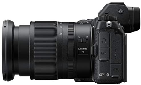 41ZHMgHp+JL. AC  - Nikon Z6 FX-Format Mirrorless Camera with NIKKOR Z 24-70mm f/4 S Lens - Bundle with Camera Case, 72mm Filter Kit, Spare Battery, Charger, Cleaning Kit, Memory Wallet, Mac Software Package