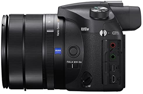 41ev5y5uRYL. AC  - Sony RX10 IV Cyber-Shot High Zoom 20.1MP Camera with 24-600mm F.2.4-F4 Lens Bundle with 64GB Memory Card, Camera Bag, 2X Battery and Photo and Video Professional Editing Suite