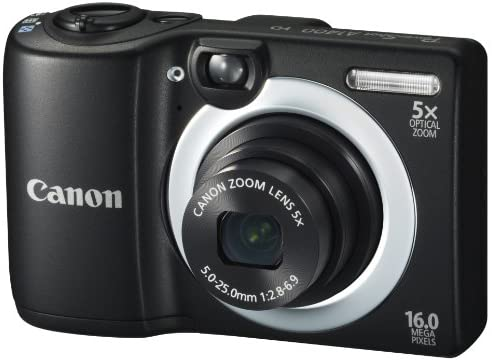 41iFhE3nyCL. AC  - Canon PowerShot A1400 16.0 MP Digital Camera with 5x Digital Image Stabilized Zoom 28mm Wide-Angle Lens and 720p HD Video Recording (Black) (OLD MODEL)