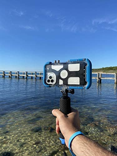 41s4DLKOWkL. AC  - ProShot Touch - Waterproof Case Compatible with iPhone 11 Pro and Compatible with All GoPro Mounts (12-Month Protection Plan for Your iPhone) (11 Pro)