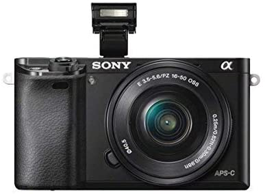 41tBDvwggDL. AC  - Sony Alpha a6000 Mirrorless Digitial Camera 24.3MP SLR Camera with 3.0-Inch LCD (Black) w/ 16-50mm Power Zoom Lens (Renewed)