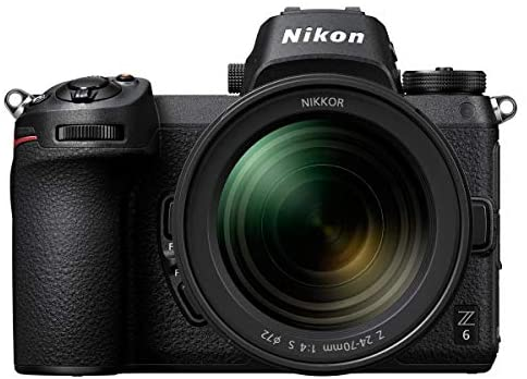 41xiFabyk5L. AC  - Nikon Z6 FX-Format Mirrorless Camera with NIKKOR Z 24-70mm f/4 S Lens - Bundle with Camera Case, 72mm Filter Kit, Spare Battery, Charger, Cleaning Kit, Memory Wallet, Mac Software Package