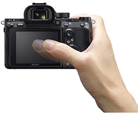 41y1sYMG1YL. AC  - Sony a7R III Full Frame Mirrorless Interchangeable Lens Camera 42.4MP Body ILCE7RM3/B Bundle with Vertical Battery Grip, 128GB Memory Card, Paintshop Pro Software and Accessories (12 Items)