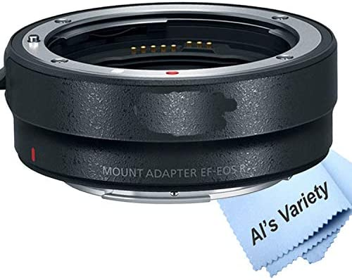 41yR7GDqANL. AC  - Canon EOS RP Mirrorless Camera (Body Only)+ Mount Adapter EF-EOS R,Cleaning Cloth (7pc Bundle)