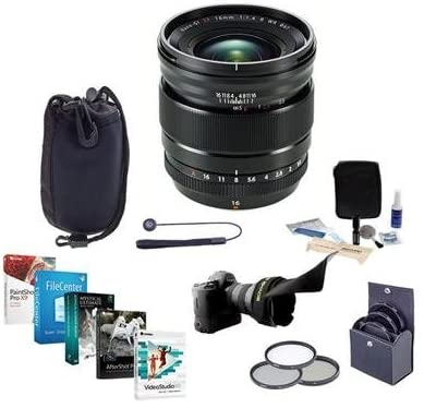 41yutKGCztL. AC  - Fujifilm XF 16mm F1.4 R (Weather Resistant) Lens - Bundle with 67mm Filter Kit, Lens Case, Flex Lens Shade, Capleash II, Cleaning Kit, Pc Software Package