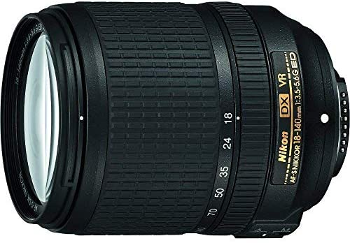 51B9x2WBJTL. AC  - Nikon AF-S DX NIKKOR 18-140mm f/3.5-5.6G ED Vibration Reduction Zoom Lens with Auto Focus for Nikon DSLR Cameras (Renewed)