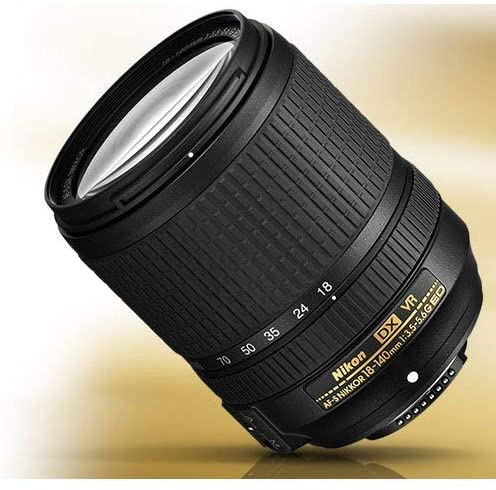 51Df3+s+zeL. AC  - Nikon AF-S DX NIKKOR 18-140mm f/3.5-5.6G ED Vibration Reduction Zoom Lens with Auto Focus for Nikon DSLR Cameras (Renewed)
