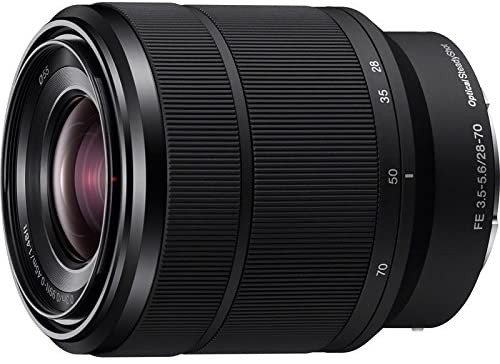 51Kt59NOt6L. AC  - Sony ILCE-7M3K/B a7III Full Frame Mirrorless Camera with 2 Lens Kit SEL2870 FE 28-70 mm F3.5-5.6 OSS + SEL50F18F FE 50mm F1.8 Bundle with 2X 64GB Memory, Deco Gear Case and Accessories (15 Items)