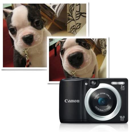 51Qasweth+L. AC  - Canon PowerShot A1400 16.0 MP Digital Camera with 5x Digital Image Stabilized Zoom 28mm Wide-Angle Lens and 720p HD Video Recording (Black) (OLD MODEL)