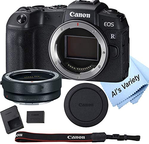 51Yo0OuJYYL. AC  - Canon EOS RP Mirrorless Camera (Body Only)+ Mount Adapter EF-EOS R,Cleaning Cloth (7pc Bundle)