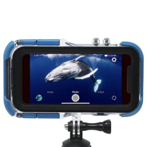 87a49807 29e6 4044 ac82 cecb41462f6d. CR208,56,563,563 PT0 SX300   - ProShot Touch - Waterproof Case Compatible with iPhone 11 Pro and Compatible with All GoPro Mounts (12-Month Protection Plan for Your iPhone) (11 Pro)