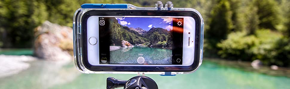 ee44e965 8944 49c5 a4f1 5e5101dedd75. CR0,190,1000,309 PT0 SX970   - ProShot Touch - Waterproof Case Compatible with iPhone 11 Pro and Compatible with All GoPro Mounts (12-Month Protection Plan for Your iPhone) (11 Pro)