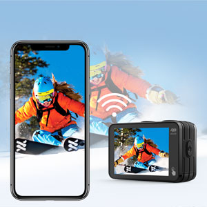 fdc06ecb 1825 4ce8 bc4e 85c9ee6aa908.  CR0,0,300,300 PT0 SX300 V1    - Campark V40 Action Camera Dual Screen 4K/30FPS WiFi Touch Screen EIS Remote Control Vlog Camera 20MP Waterproof Camera 131 Feet Webcam with 2X 1350mAh Batteries and Accessories