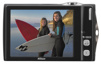 nikon.s4000.lcd - Nikon Coolpix S4000 12 MP Digital Camera with 4x Optical Vibration Reduction (VR) Zoom and 3.0-Inch Touch-Panel LCD (Silver)